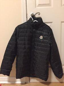 Moncler light bubble jacket.
