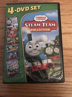 Thomas Friends: Steam Team Collection (DVD, 2011, 4-Disc Set)