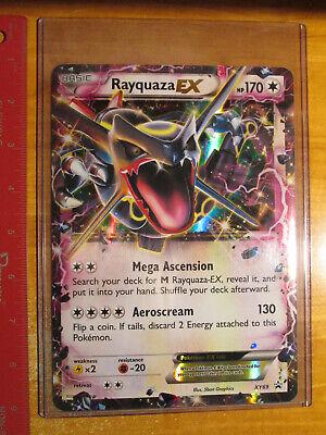 NM JUMBO Pokemon Shiny RAYQUAZA EX Card BLACK STAR PROMO Set XY69 OVERSIZED Big comprar usado  Enviando para Brazil