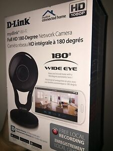 Dlink 180 degree camera