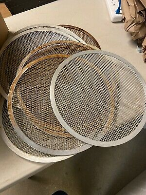 Lot Of 24-12 Inch Mesh Pizza Screen Used