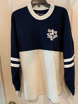 Blank Spirit Jersey (DVC Member Spirit Jersey Sweatshirt Navy Blue White XXL Disney Vacation Club)