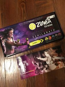 Zumba Exhilarate Body Shaping System - 5+2 DVDs + Toning Sticks