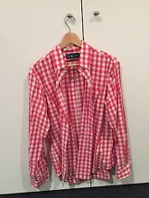 Ralph Lauren red checked shirt large South Yarra Stonnington Area Preview