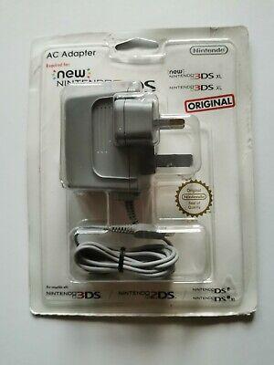 ORIGINAL & GENUINE NINTENDO 3DS 2DS XL AC UK ADAPTER OFFICIAL New