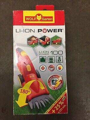 Wolf Garten ACCU LI-ION 100 Power Professional Battery Grass Shears Never Used