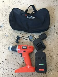 Black and Decker 18V Portable Drill