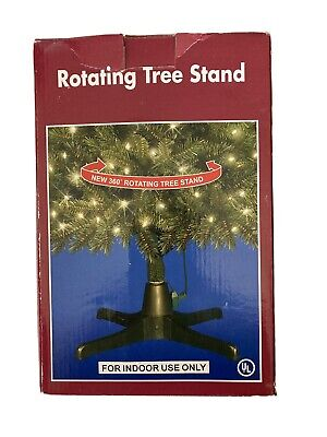 Rotating Electric Christmas Tree Stand Base for Artificial Trees 7 1/2 Ft
