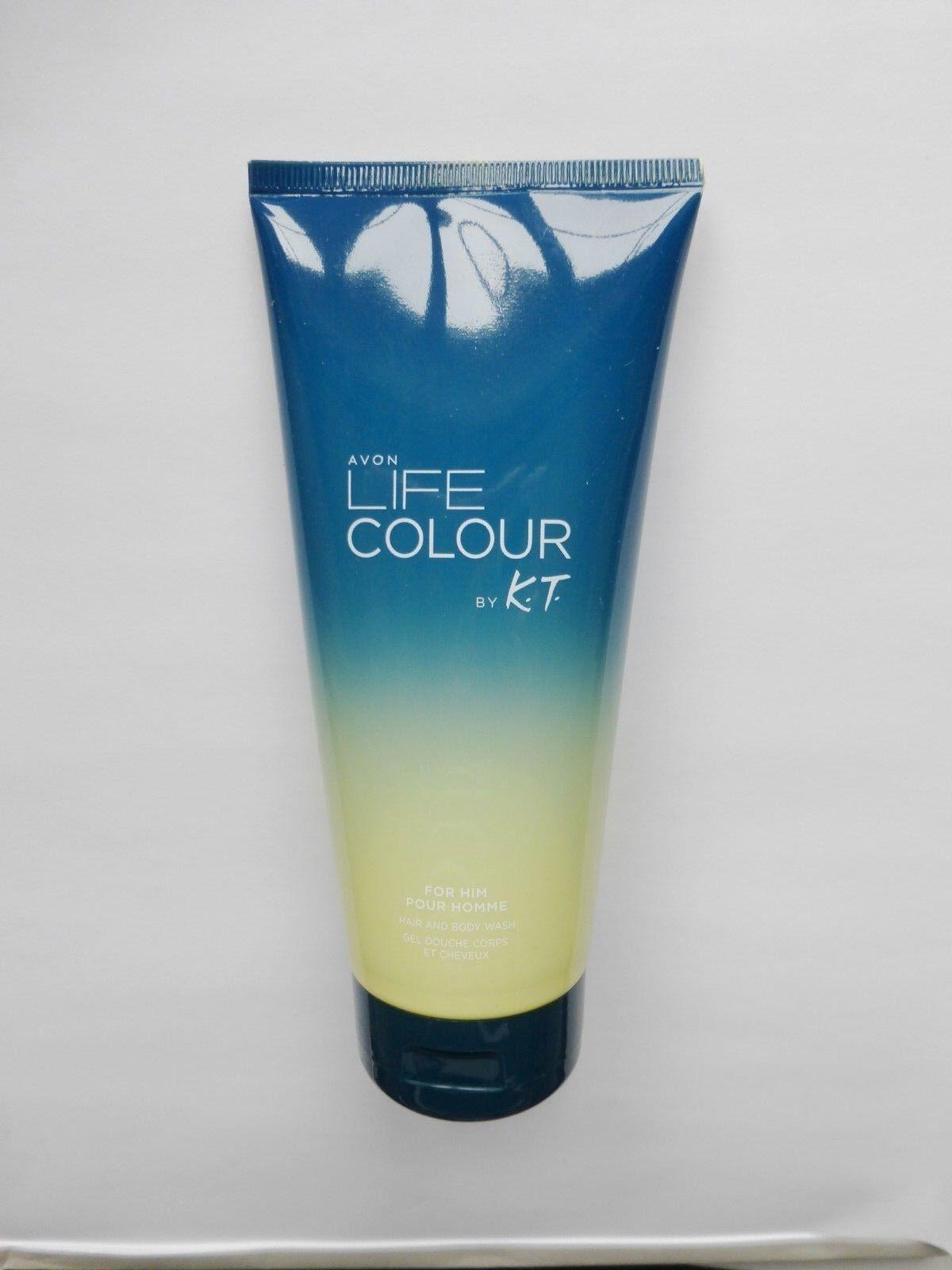 (100ml/1,50€) Avon Life Colour Für Ihn by Kenzo Takada Shampoo & Duschgel