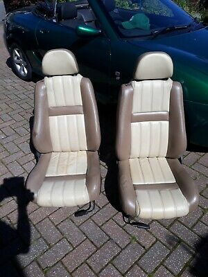 Mg tf leather seats