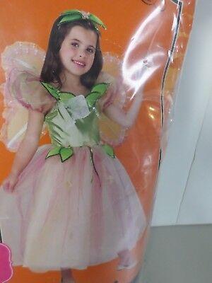 Primrose Princess Renaissance Pink Cute Fancy Dress Up Halloween Costume  SZ 7-8