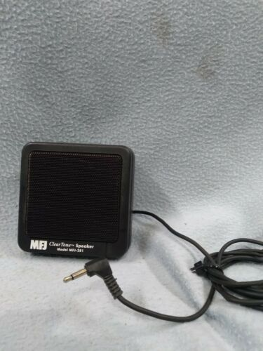 MFJ-281 Clear Tone external Speaker for Mobile Ham CB Radios w FREE SHIPPING