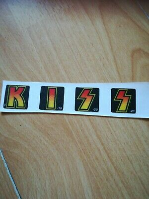 Kiss Pinball Decals Replacement