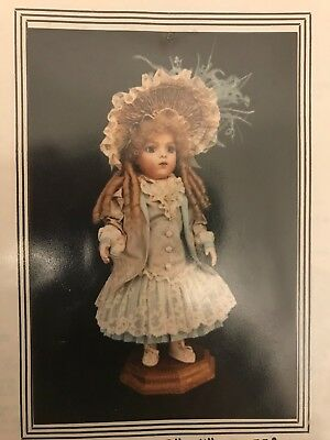 "12-14""ANTIQUE  GERMAN FRENCH BRU DOLL DRESS JACKET VEST HAT UNDERWEAR PATTERN"