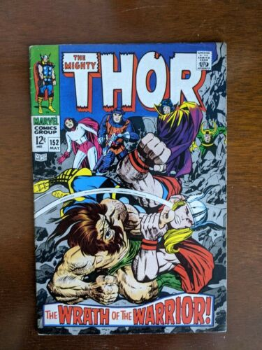 Thor # 152 1968 Silver Age Comic Inhumans The Destroyer