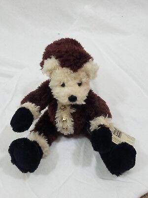 "Ganz Cottage Collectibles 14"" Kringle Christmas Bear 1997 Christy Rave Vintage"