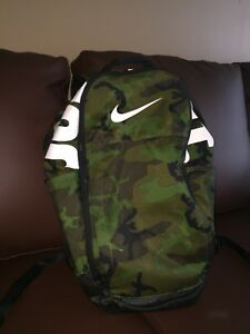 Nike camo backpack