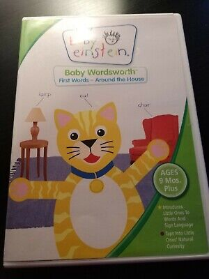 Baby Einstein: Baby Wordsworth First Words - Around The House (DVD, 2005)!!!