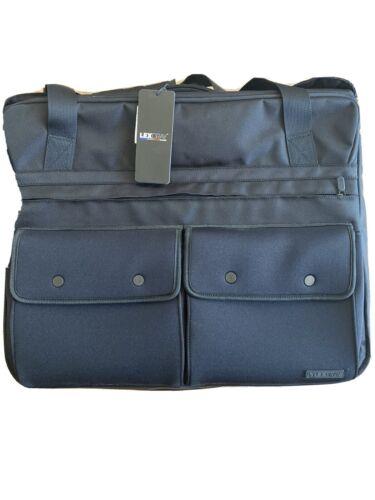 Lexdray London Garment Bag Duffel Suitcase Black - NEW - Travel In Style  - $125.00