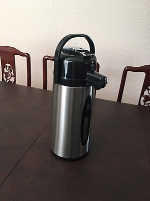 Daily Chef Commercial Airpot 2.2l 74.4 Oz Stainless Steel