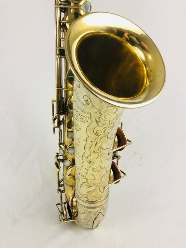 Selmer New Large Bore Super Gold Plated Tenor Saxophone Owned by Railroad Earth