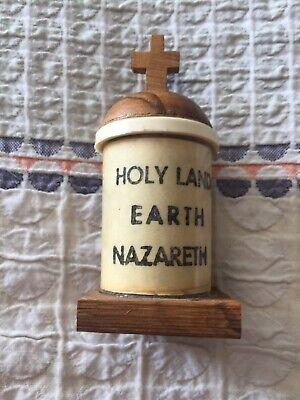 Holy Land Earth Nazareth Vintage Religious Statue