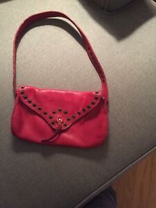 Genuine leather Roots purse