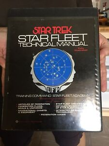 Star Trek fleet technical manuals