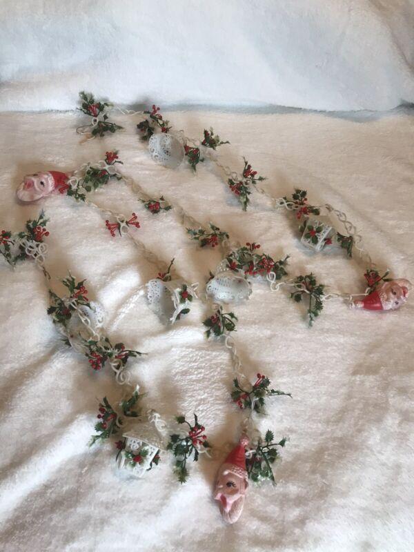vintage plastic christmas garland