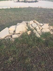Sandstone rock pieces Acton Park Clarence Area Preview
