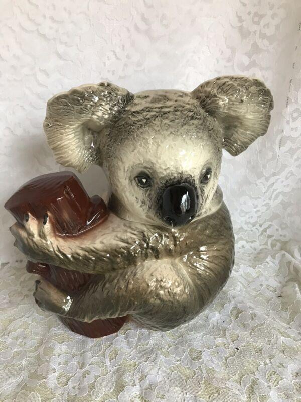 Vintage Koala  Bear Cookie Jar California Pottery Originals