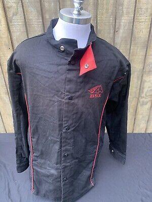 Revco Industries Bsx Gear Fr Fire Resistant Welders Welding Shirt Mens L Flames