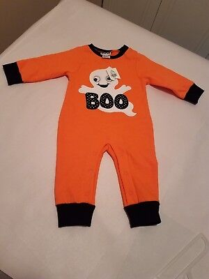 Halloween Boo Ghost (Halloween Boo Ghost Infant Sz 9m 1-piece Outfit by Classic Characters)