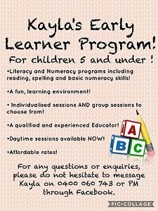 School Readiness Tutoring Early Learning Program Middleton Grange Liverpool Area Preview