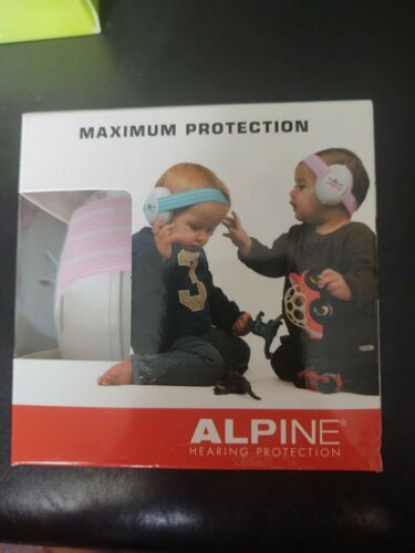 Alpine Muffy Baby Ear Protection for Newborn and Babies 3 - 36 Months –Earmuff