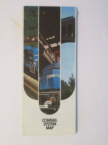 Conrail System Map 1978