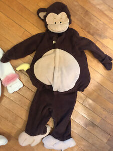 Monkey Halloween costume 12-24 months