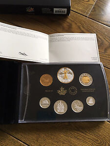 2017 fine Silver Proof set Canada 150