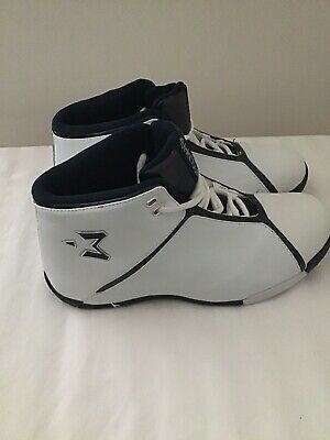 White Blue  Starbury by Stephon Marbury Basketball Leather Shoes 20242 Size 8.5
