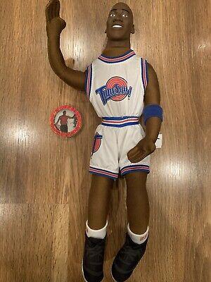 Michael Jordan Space Jam Tune Squad Doll & Pog Slammer