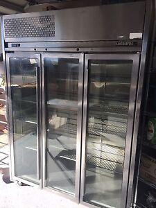 3 door upright fridge Williams Googong Queanbeyan Area Preview