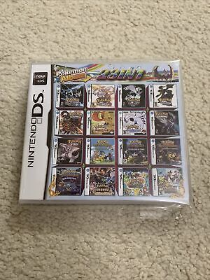 Pokemon 23 in 1 Game Card Nintendo DS DSI DS LITE 2DS 3DS