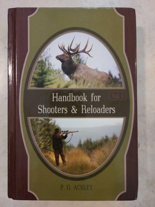 Handbook for Shooters & Reloaders Vol. 1 P. O. Ackley Parker wildcat