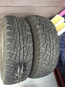 Two tires and rims 225/50/R15