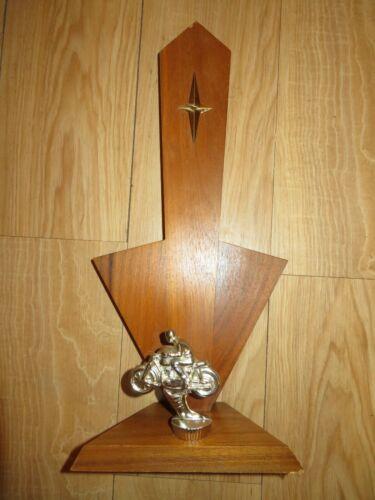 Vintage 1966 Motorcycle Club Trophy
