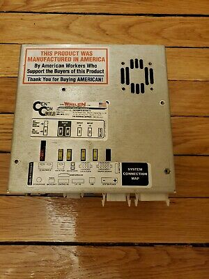 Whelen Cencom Gold Amplifier Relay Module - Brain Only -guaranteed