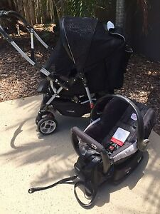 STEELCRAFT STROLLER (Reversible Handle) & Britax Safe n Sound CAPSULE Ashmore Gold Coast City Preview