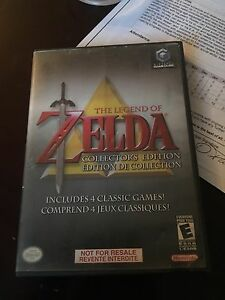 Zelda collectors edition for game cube