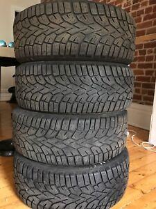 4 pneus d'hiver Gislaved