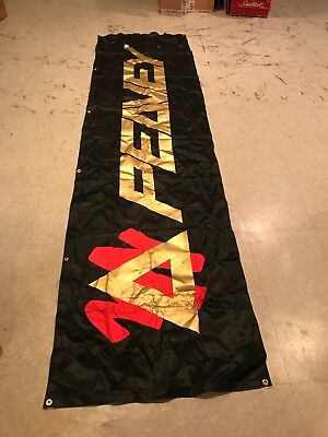 Vintage Peavey Banner Sign - Music Advertising Guitar